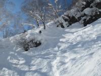 """2014/01/12 新潟県 妙高杉ノ原スキー場 """"サイドカントリーめぐり"""""""
