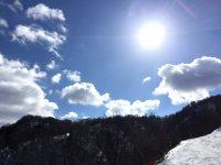 """2017/02/04 福井県 今庄365スキー場 """"近場でピーカン満喫"""""""
