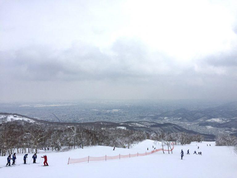 """2017/02/16 北海道 サッポロテイネ """"見晴らしがよろしくて。"""""""
