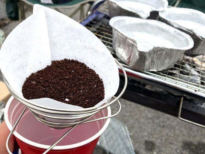 コーヒーを無理やり沸かす