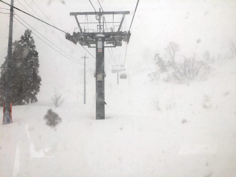 """2017/01/24 新潟県 シャルマン火打スキー場 """"スーパーリセット祭り"""""""